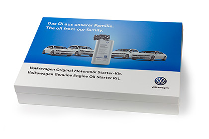 Volkswagen Oil Box with Magnetic Closure